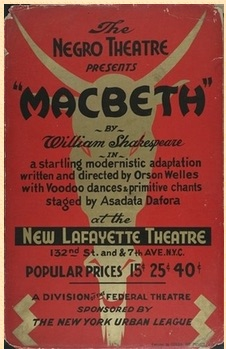 macbeth playbill